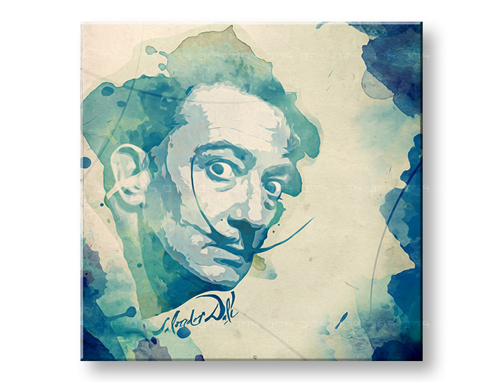 Пана за стена Tom Loris - Salvador Dalí - AQUArt 004AA1