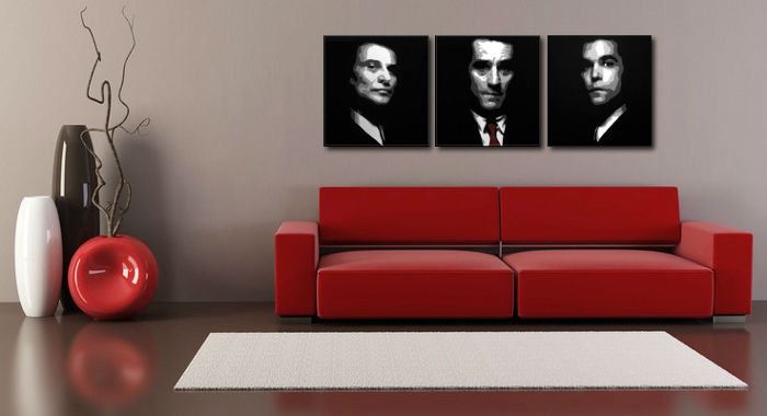 Картини за стена Pop Art Goodfellas 3 части 150x50cm