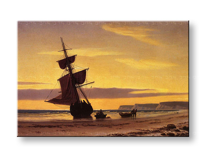 Картини на платно COASTAL SCENE - William Bradford