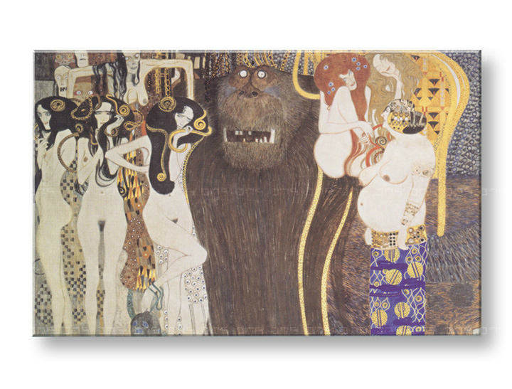 Картини на платно THE BEETHOVEN FRIEZE - Gustav Klimt