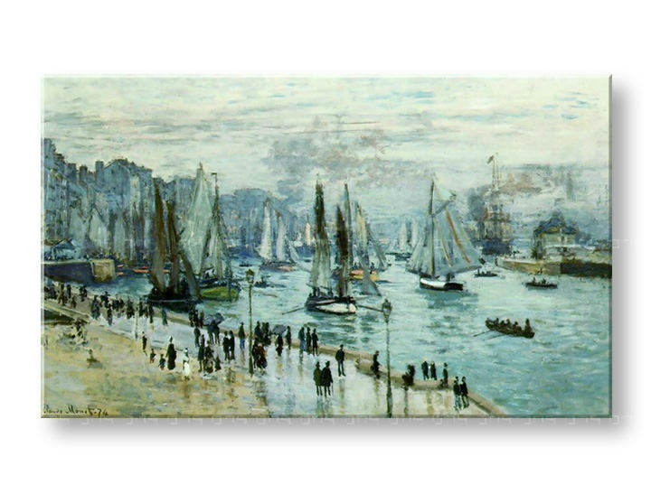 Картини на платно FISHING BOATS LEAVIN THE HARBOR - Claude Monet