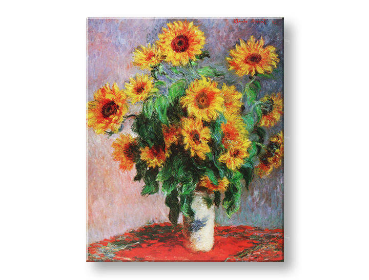 Картини на платно SUNFLOWER - Claude Monet