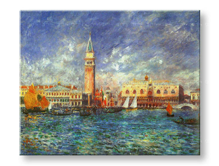 Картини на платно THE DOGE'S PALACE - Pierre Auguste Renoir