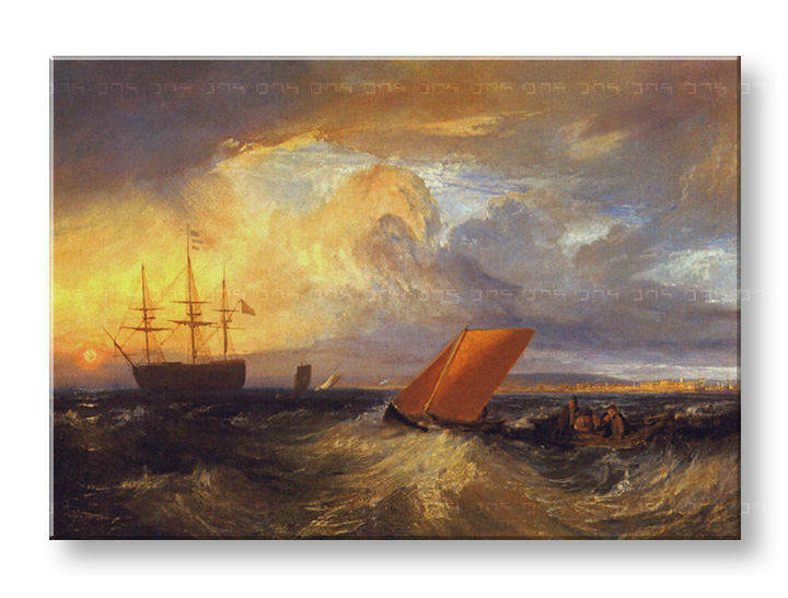 Картини на платно SHEERNESS VISTA DAL NORE - William Turner