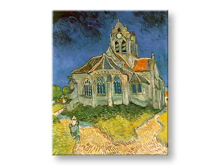 Картини на платно CATHEDRAL - Vincent van Gogh