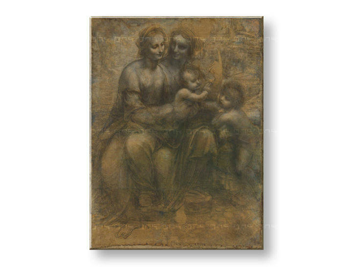 Картини на платно VIRGIN AND CHILD WITH SAINT ANNE- Leonardo da Vinci